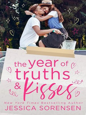 cover image of The Year of Truths & Kisses