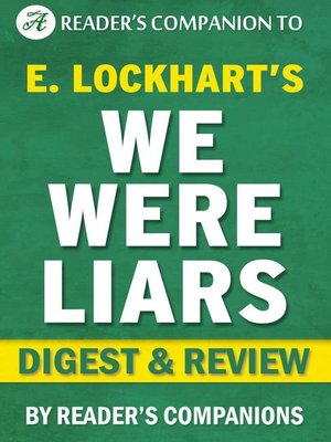 cover image of We Were Liars by E. Lockhart | Digest & Review