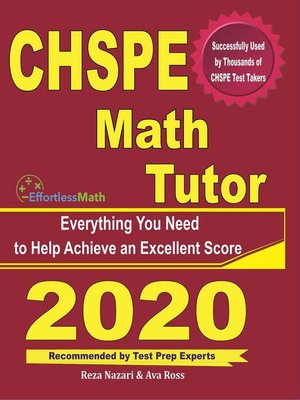 cover image of CHSPE Math Tutor