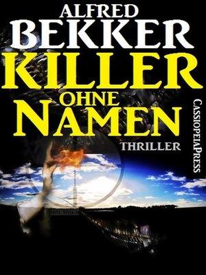 cover image of Killer ohne Namen