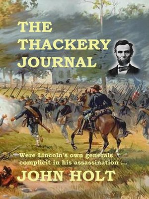 cover image of The Thackery Journal