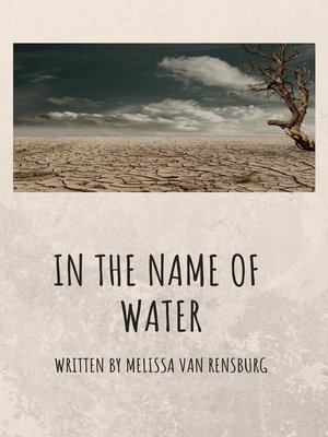 cover image of In the name of water