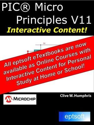 cover image of PIC Micro Principles V11