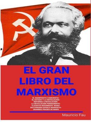 cover image of El gran Libro del Marxismo