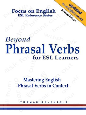 cover image of Beyond Phrasal Verbs for ESL Learners