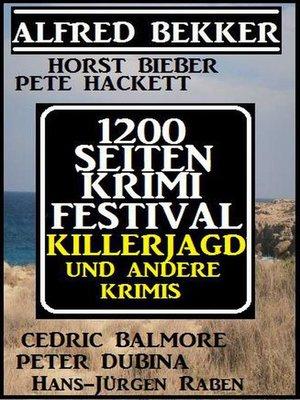 cover image of 1200 Seiten Krimi Festival