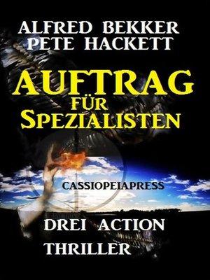 cover image of Auftrag für Spezialisten