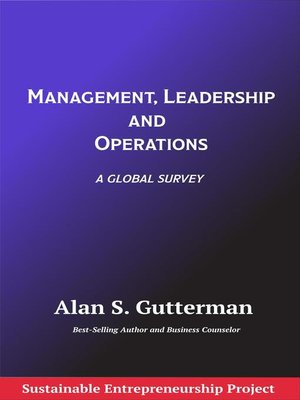 cover image of Management, Leadership and Operations