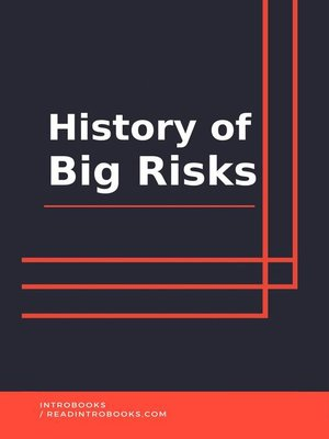 cover image of History of Big Risks