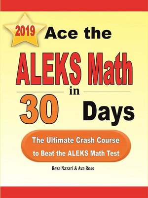 cover image of Ace the ALEKS Math in 30 Days