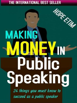 cover image of Making Money in Public Speaking