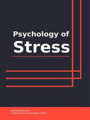 cover image of Psychology of Stress