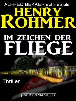 cover image of Im Zeichen der Fliege