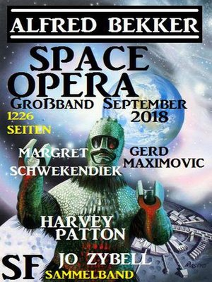 cover image of Space Opera Großband September 2018