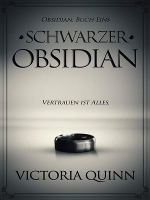 cover image of Schwarzer Obsidian