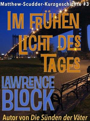 cover image of Im frühen Licht des Tages