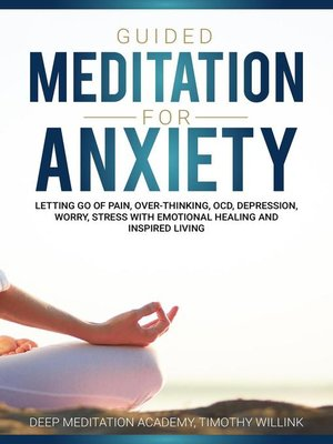 cover image of Guided Meditation for Anxiety