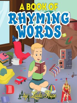 cover image of A Book of Rhyming Words