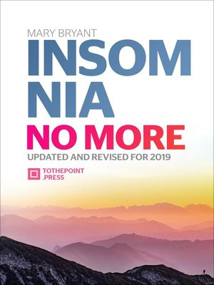 cover image of Insomnia No More