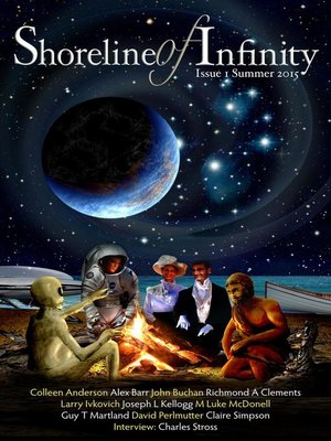 cover image of Shoreline of Infinity 1