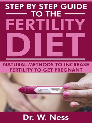 cover image of Step by Step Guide to the Fertility Diet