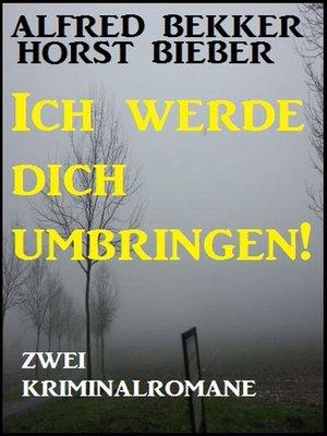 cover image of Zwei Kriminalromane