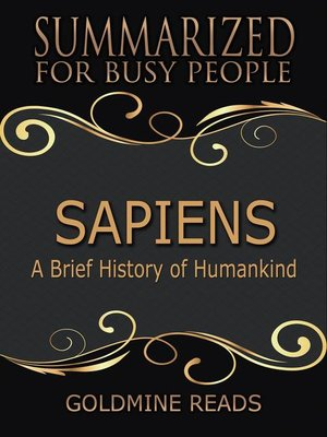 cover image of Sapiens – Summarized for Busy People