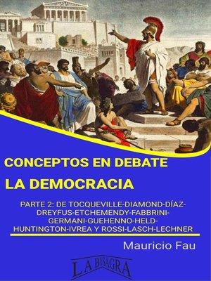 cover image of La democracia
