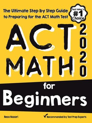 cover image of ACT Math for Beginners