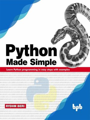cover image of Python Made Simple