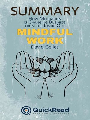 """cover image of Summary of """"Mindful Work"""" by David Gelles"""