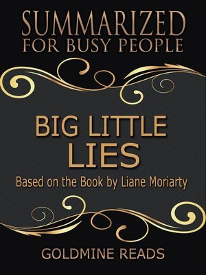 cover image of Big Little Lies- Summarized for Busy People