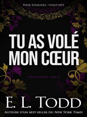 cover image of Tu as volé mon cœur