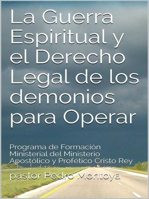 cover image of La Guerra Espiritual y el Derecho Legal de los demonios para Operar