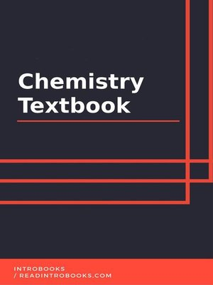 cover image of Chemistry Textbook