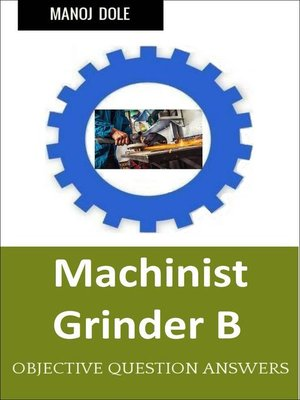 cover image of Machinist Grinder B