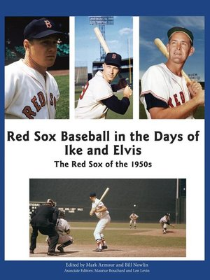 cover image of Red Sox Baseball in the Days of Ike and Elvis