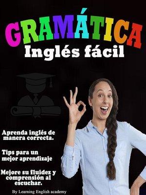 cover image of Gramática Inglés Fácil