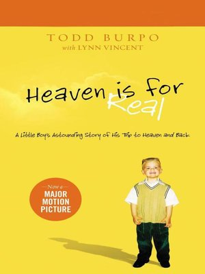 cover image of Heaven is for Real