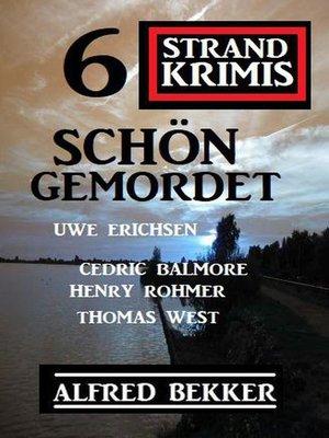 cover image of Schön gemordet