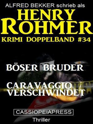 cover image of Krimi Doppelband #34