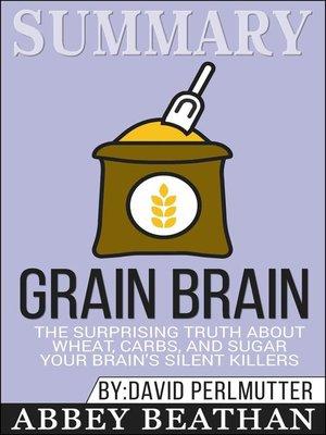 cover image of Summary of Grain Brain