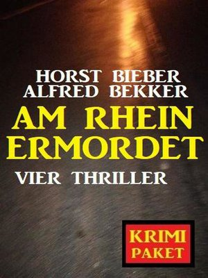 cover image of Am Rhein ermordet