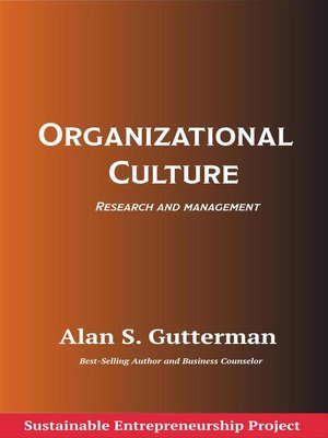cover image of Organizational Culture
