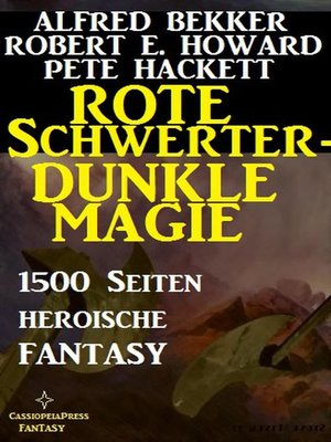 cover image of Rote Schwerter--dunkle Magie