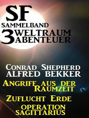 cover image of SF Sammelband 3 Weltraum-Abenteuer