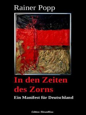 cover image of In den Zeiten des Zorns