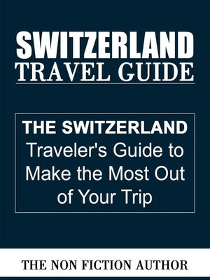 cover image of Switzerland Travel Guide