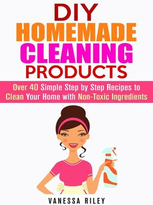 cover image of DIY Homemade Cleaning Products