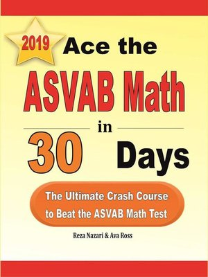 cover image of Ace the ASVAB Math in 30 Days